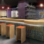 Infografía 3D Pub. A Design, Installations, and 3D project by IngenioVirtual - 11.06.2011