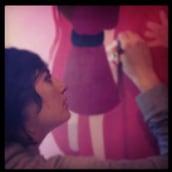 Mural infantil. Un proyecto de Instalaciones e Ilustración de Rose T. Villalobos - 15.11.2011