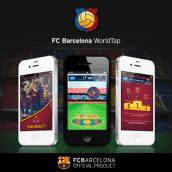 FC Barcelona WorldTap. A Design & Illustration project by Josep Segarra - 12.22.2011