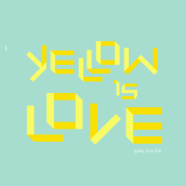 Yellow is love. A Design & Illustration project by Pablo Pighin - 01.12.2012