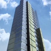 Rascacielos. A Motion Graphics und 3-D project by Nicolas Junco - 17.02.2012