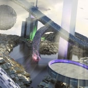 Escena futurista. A Motion Graphics und 3-D project by Nicolas Junco - 31.03.2012
