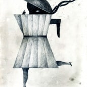 Con Lápiz . A Illustration project by yolanda mosquera - 05.05.2012