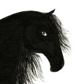 the black stallion. Un projet de Design  et Illustration de Coco Escribano - 03.06.2012