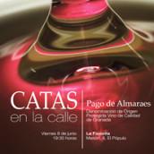 La Favorita: Cartel Catas en la calle. Um projeto de Design e Publicidade de Paco Mármol - 08.06.2012