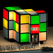 RUBIK'S . A Design, Installations, and 3D project by Estibaliz Souto - 09.25.2012