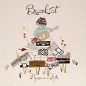 Bearkat. Diseño de álbum.. Un proyecto de Ilustración de Estibaliz Hernández de Miguel - 02.12.2012