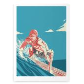 Surf Prints. Um projeto de Ilustração de Facundo Samman - 13.01.2013