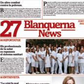 Rediseño revista Blanquerna. Un proyecto de Diseño, Ilustración, Publicidad y Fotografía de Gerard Benito Pardo - 19.04.2013