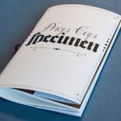 Drop Cap Specimen. Un proyecto de Diseño e Ilustración de Javier P - 02.05.2013