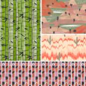 Pattern Design. Un proyecto de Ilustración de Sara Pedrero Díaz - 10.06.2013