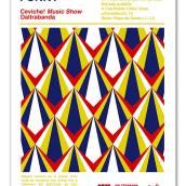Carteles para ciclo de conciertos. Un proyecto de Diseño de Hugo Cornelles Llobregat - 26.08.2013
