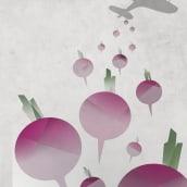 turnip bombs. Un proyecto de Diseño e Ilustración de Mar Garachana - 03.09.2013