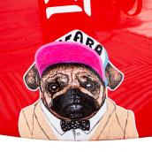 Cool Dog. Un progetto di Illustrazione di Cristina Mata Martinez - 01.10.2013