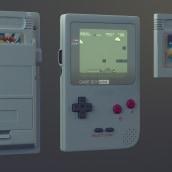 GameBoy. Um projeto de Design, Fotografia e 3D de Alvaro Orasio Garcia - 15.10.2013