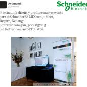 Actimundi diseña y produce evento Mix2013 para Schneide-Electric. Un proyecto de Diseño, Publicidad, Música, Audio, Instalaciones, Cine, vídeo y televisión de Actimundi - Agencia de Marketing y Comunicación - 14.11.2013
