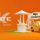 AXNwhite Erase Una Vez IDs. A Motion Graphics, Film, Video, TV, and 3D project by Diego Castro Moreni - 11.26.2013