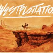Westploitation. Um projeto de Design e Ilustração de Saint Kilda - 03.01.2014