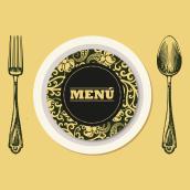 Menú. Um projeto de Design gráfico de Julia Martínez Bonilla - 08.02.2014