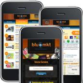 Diseño de Bluemkt App. Um projeto de Desenvolvimento de software, Design interativo e UI / UX de Ineshi - 02.03.2014