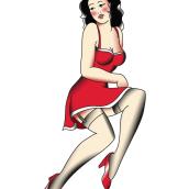 Ilustraciones Pin up. Un proyecto de Ilustración de Gracia Fernández Arroyo - 04.03.2014