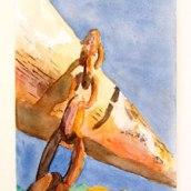 Acuarela 1. Um projeto de Artes plásticas de Sandra Gerez - 31.05.2005