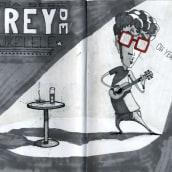 Sketchbook - Ilustraciones 00. Un proyecto de Ilustración de Antonio Huelva Guerrero - 06.04.2014