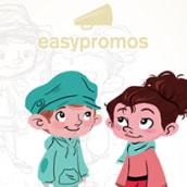 Promo for easypromos. Un proyecto de Ilustración de Rose T. Villalobos - 15.04.2014