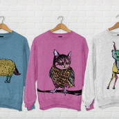 Animales contrarios. A Illustration project by Lorena Maeso García - 12.03.2013