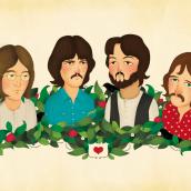 The Beatles. Un proyecto de Ilustración de María Díaz Perera - 26.07.2013