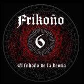 """Frikoño 6 - """"El Frikoño de la Bestia"""". Un proyecto de Publicidad, Dirección de arte y Diseño gráfico de Nagore Lejarza - 30.04.2014"""