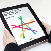 The Annual of Annuals 12 - ADCE. Un proyecto de Diseño editorial de Bisgràfic - 09.06.2014