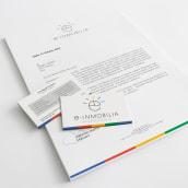 E-Inmobilia - Branding identidad. Un proyecto de Br, ing e Identidad y Diseño gráfico de Alejandro Carrasco Velasco - 19.06.2014