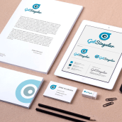 GET SINGULAR - Branding Identidad. Un proyecto de Br, ing e Identidad y Diseño gráfico de Alejandro Carrasco Velasco - 19.06.2014