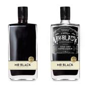 Mr. Black Spirits Co.. Un projet de Design , T , et pographie de David Sanden - 29.06.2014
