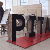 Pitarra - expo . Un proyecto de Dirección de arte y Diseño gráfico de Bisgràfic - 30.06.2014