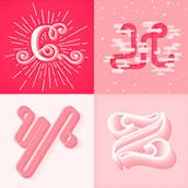 36 Days Of Type | Lettering. Un proyecto de Ilustración, Diseño gráfico y Tipografía de Jota Erre - 31.03.2014