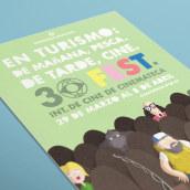 30 FEST. Un proyecto de Diseño gráfico e Ilustración de MICAELA CARBAJAL - 10.12.2013