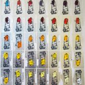 Carta de Colores - Atardecer. A Bildende Künste, Malerei und Siebdruck project by Romulo Martinez - 05.10.2013