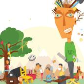 Personal. Um projeto de Ilustração e Design de personagens de Ana Rosa Álvarez - 18.08.2014