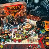 Seven Swords - Diseño y producción de juego de mesa. A Design, Kunstleitung, Verpackung und Produktdesign project by Alberto González - 05.09.2014