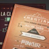 Textosterona Vol. 2. Un progetto di Graphic Design , e Tipografia di Fernando Báez - 08.09.2014