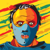 Lecter, Hannibal Lecter.. A Illustration project by Cristian Iborra Pinero - 09.14.2014