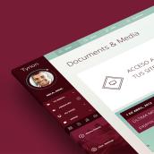 Tyrion. UI & Layout PSD Template.. Un progetto di Design interattivo, Multimedia , e UI/UX di Fernando Báez - 17.09.2014