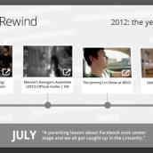 YouTube Rewind 2012. Un proyecto de Diseño, Motion Graphics, Br e ing e Identidad de Benet Carrasco Llinares - 09.01.2013