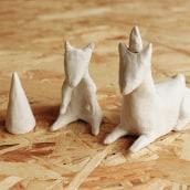 Gorditos de arcilla.. Un projet de Character Design, Artisanat , et Sculpture de Dana Riesgo - 29.09.2014