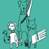 Estamos kaninos. A Graphic Design & Illustration project by Natalia Vera - 09.30.2014