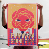 Primavera Sound 2014. A Illustration, and Screen-printing project by Barba - 05.21.2014