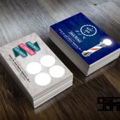 Tarjetas de invitación Barber Shop. A Design, Advertising, and Graphic Design project by Oscar Jones - 11.22.2014