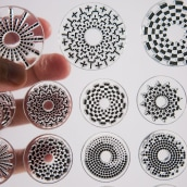 Circle Clear Stamps. A Design, and Product Design project by Francisco Aveledo - 12.15.2014